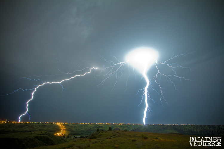 Lightning in Lethbridge