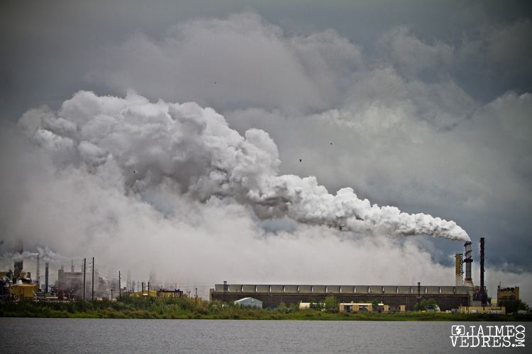 Mildred Lake Syncrude Plant Fort McMurray Alberta