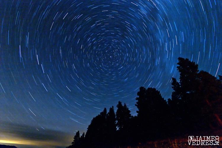 Star Trails at Koocanusa BC
