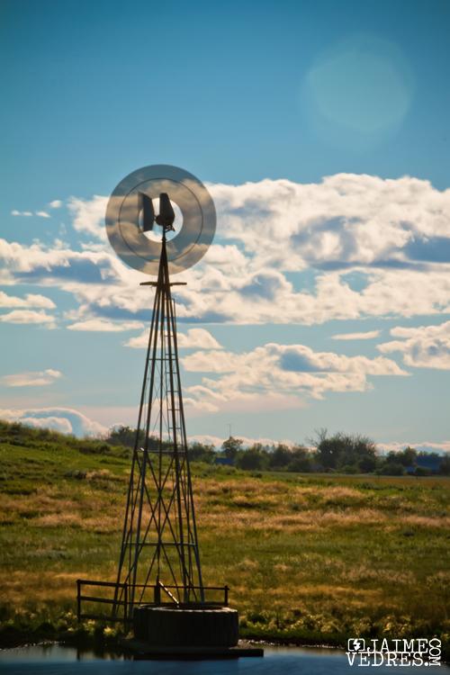Milk River, Alberta, Farm Windmill
