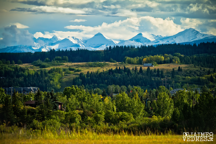 View from Cochrane Alberta