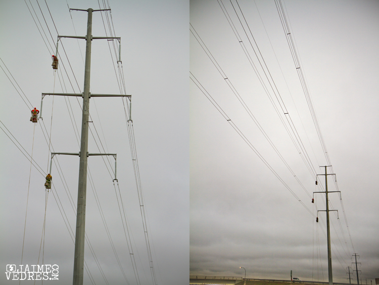 Alberta Powerlines to Montana