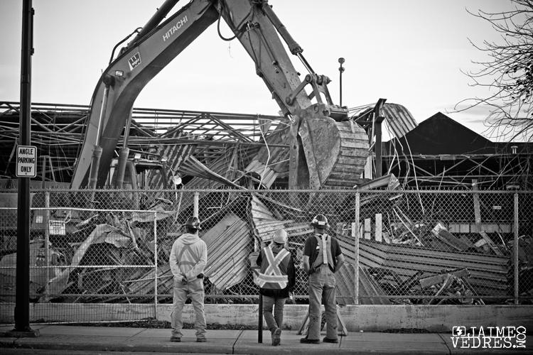 Lethbridge IGA Demolition