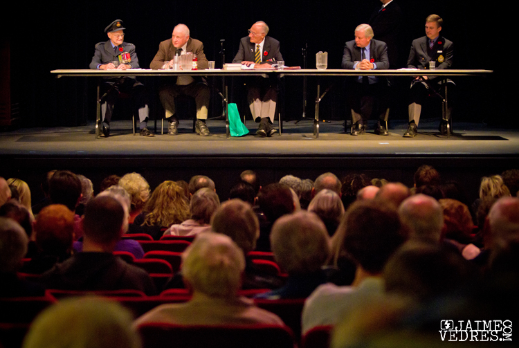 Empress Theatre Remembrance Day Veteran Panel