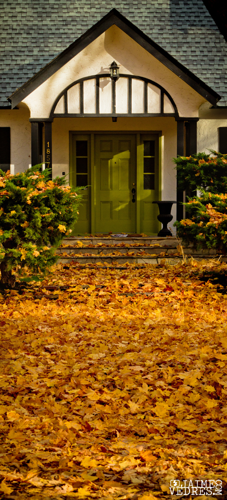 Door on Maple Street Kelowna, BC, Canada