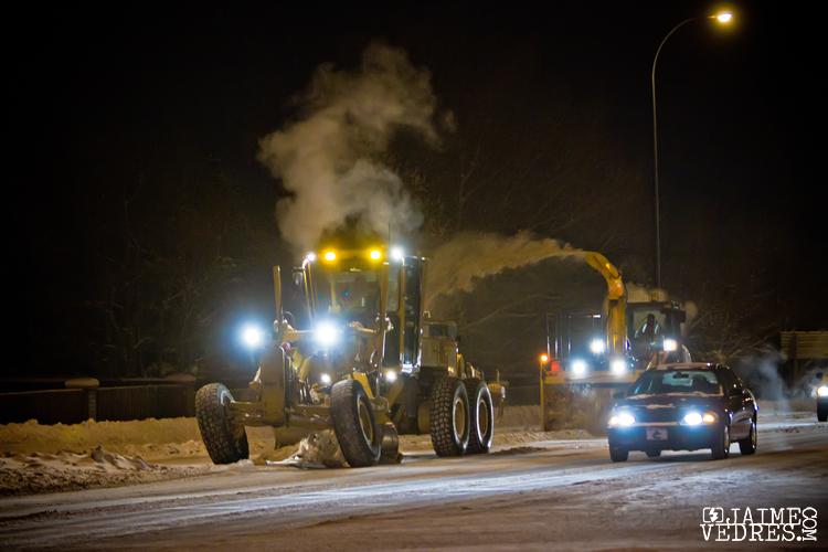 University Drive Snow Plow