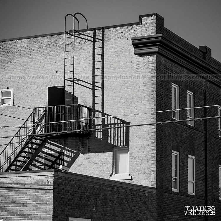 Fire Escape Lethbridge