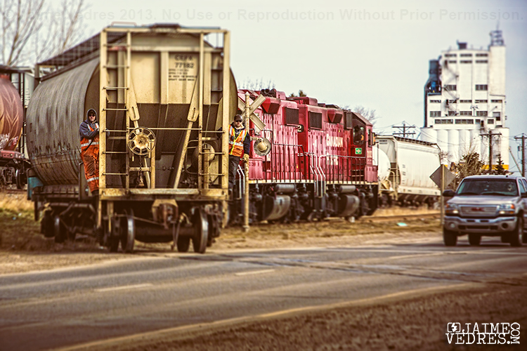 CP Rail Lethbridge