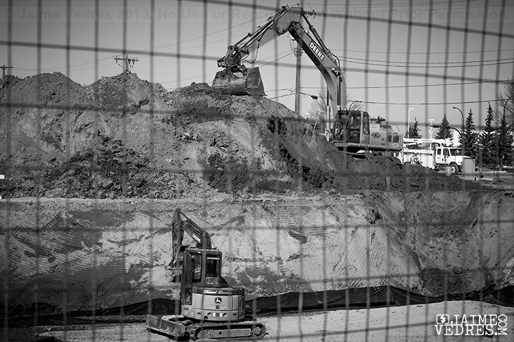 Construction China Town Lethbridge