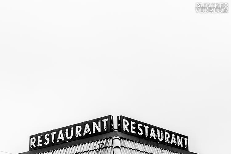 Lethbridge Restaurant Sign