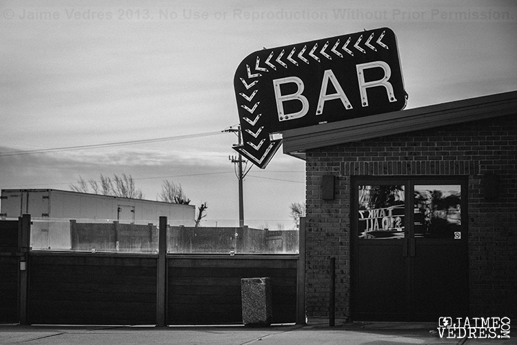 Taber Bar Sign