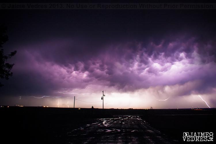 Lightning Southern Alberta