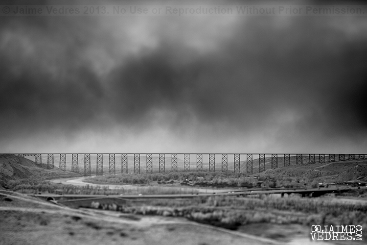Dust Storm Lethbridge Landscape