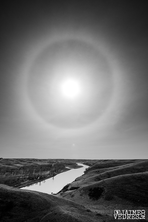 Lethbridge Sun Dog, Coulees