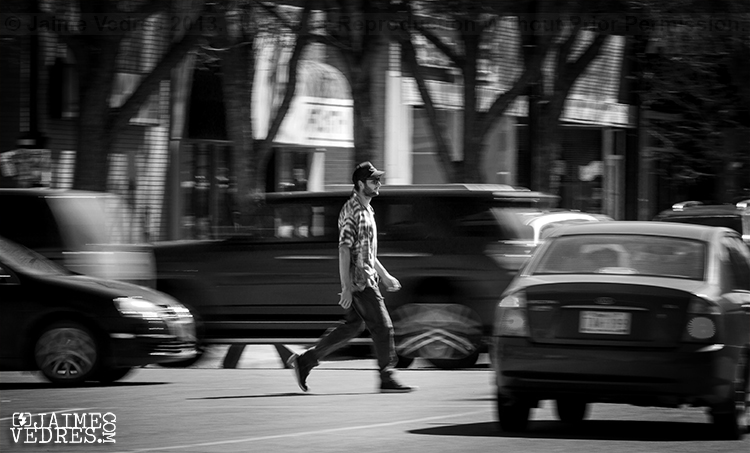 downtown pedestrian