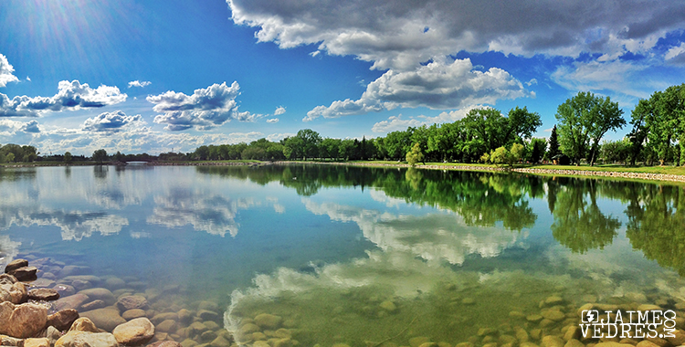 Hederson Lake iPhone Panoramic