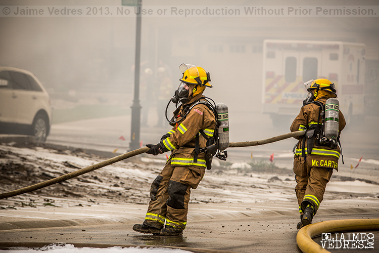 Lethbridge House Fire