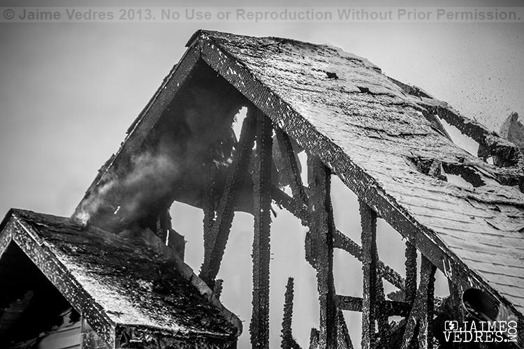 Lethbridge House Fire