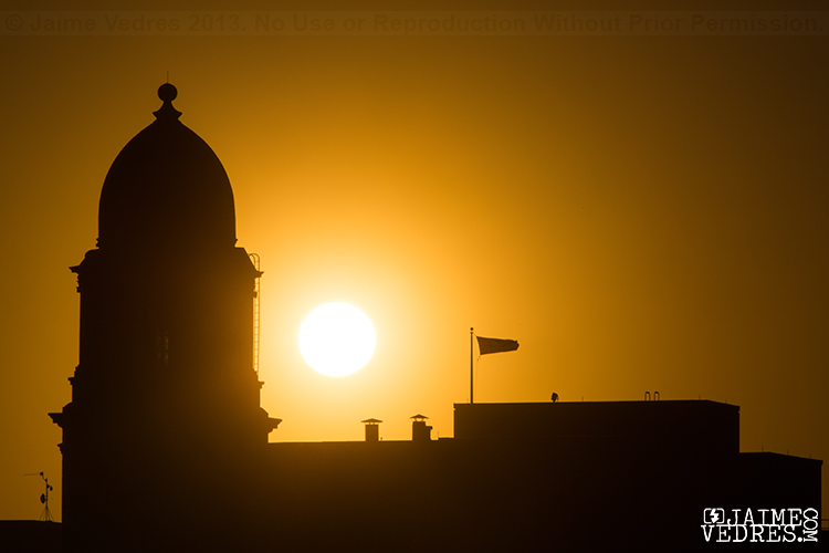 Lethbridge Post Office Sunrise