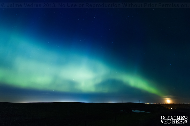 Lethbridge, Northern Lights, Photographer