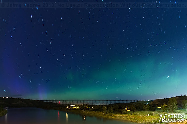 Lethbridge Northern Lights, Highlevel Bridge