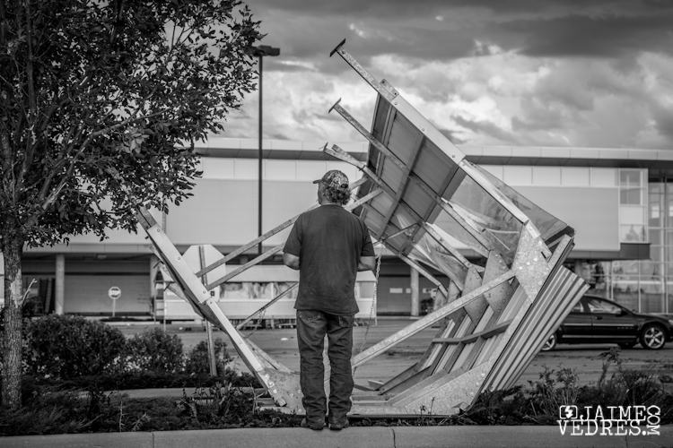 Lethbridge Superstore Wind Storm