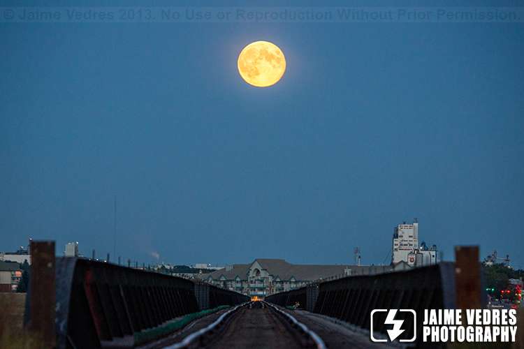 Harvest Moon Lethbridge Highlevel Bridge