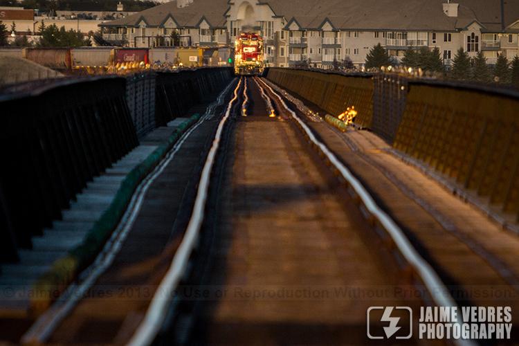 Train and Tracks