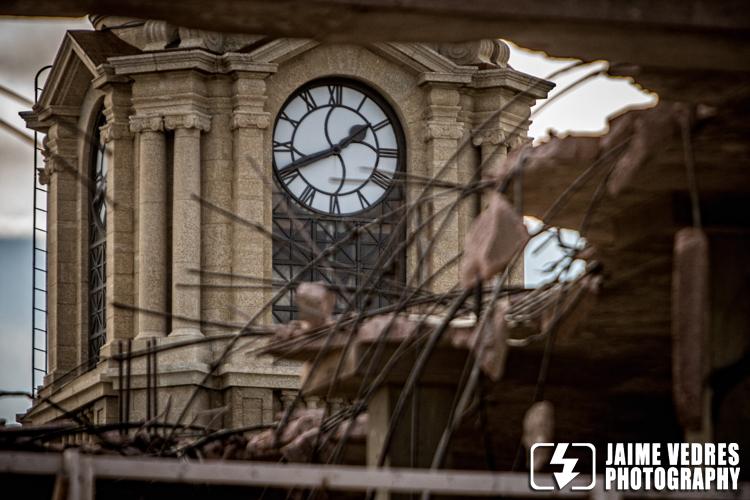 Atrium Building Demolition, Post Office Clock Tower