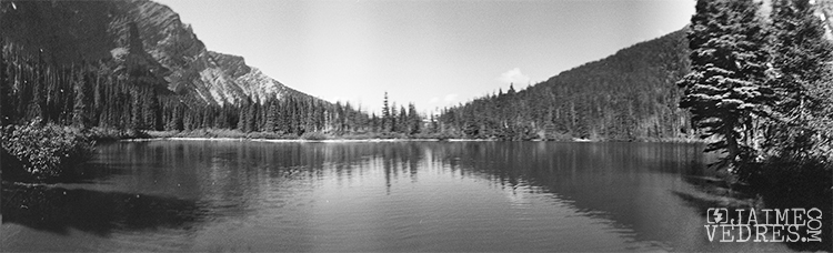 Bertha Lake, Waterton, Panoramic, 360 Spinner, Film