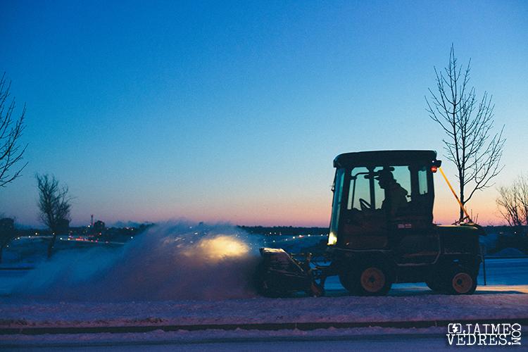 Snow Plow, UofL, Lethbridge