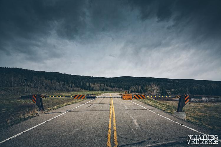 Road Closed, Alberta