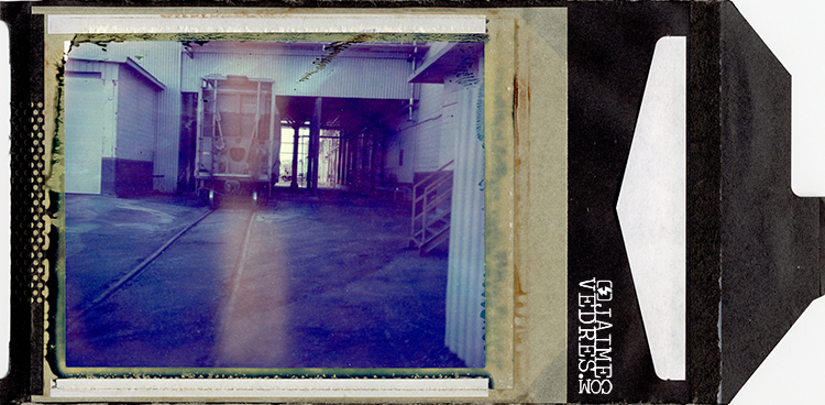 Ellison Mills 4x5 Polaroid Lethbridge