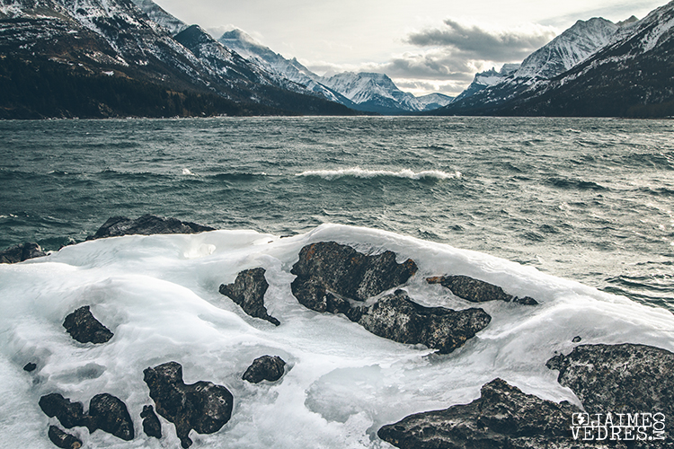 Waterton Lakes in the Winter