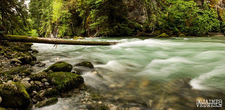 Stream Panoramic, near Squamish BC