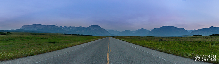 Road to Waterton