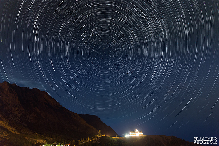 Waterton Star Trails