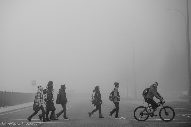 Fog Pedestrians