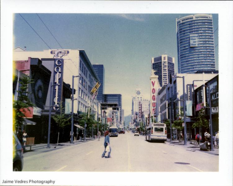 Granville Street Polaroid