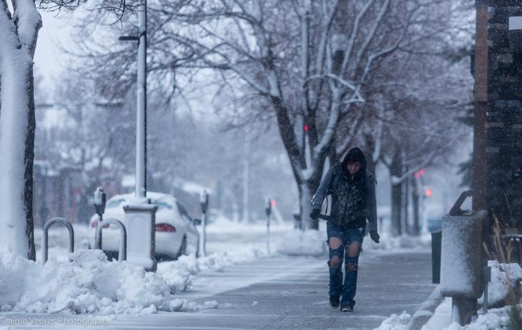 Downtown Lethbridge Winter