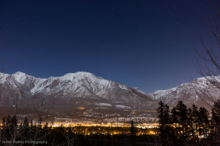 Canmore City Lights