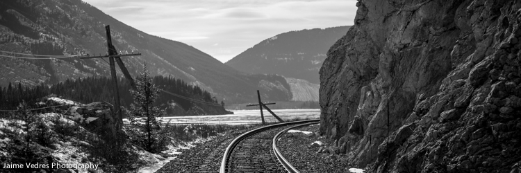 Train Tracks, Xpan Crop