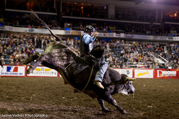 PBR Canada, Bull Riding, Enmax Centre