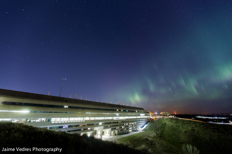 Uleth Northern Lights, Uhall, University of Lethbridge