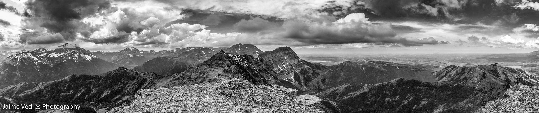 Mount Galwey Summit Pano