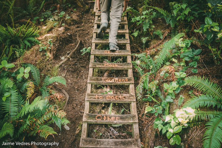 West Coast Trail, Ladders