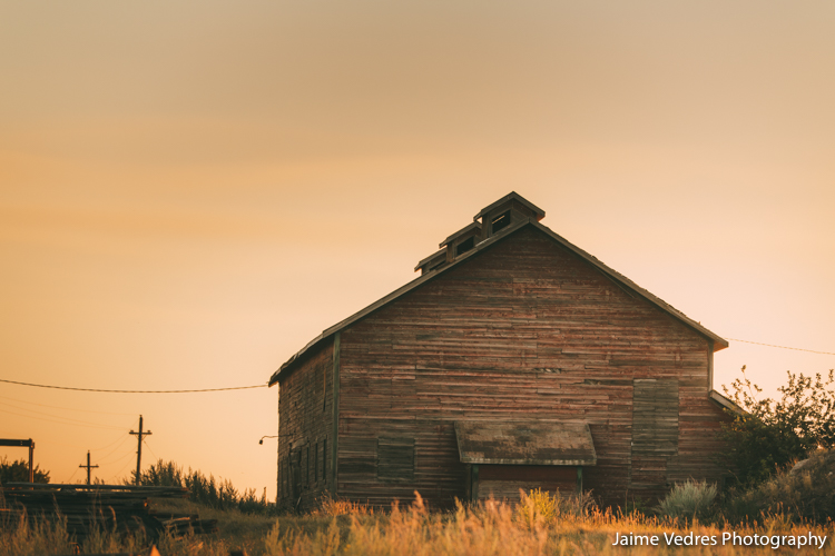 Lethbridge Mine, Sunset,