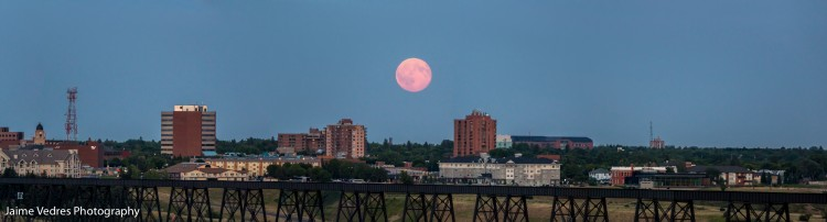 Full Moon, Lethbridge, Blue Moon