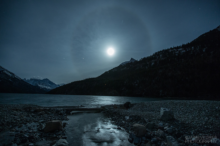 Waterton Lunar Halo