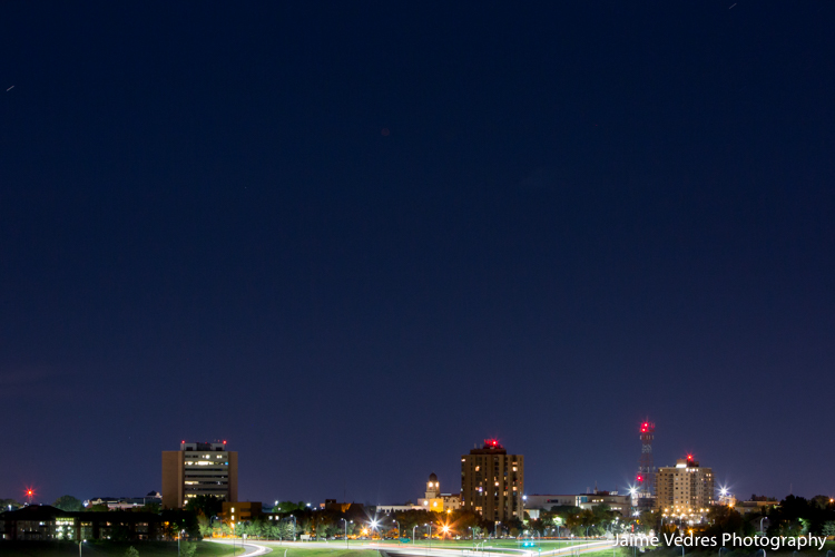 Lethbridge Night Skyline